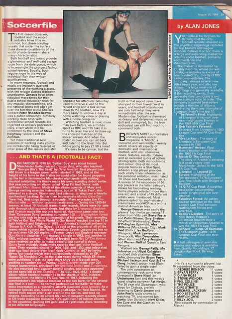 Record Mirror - 25th August 1984