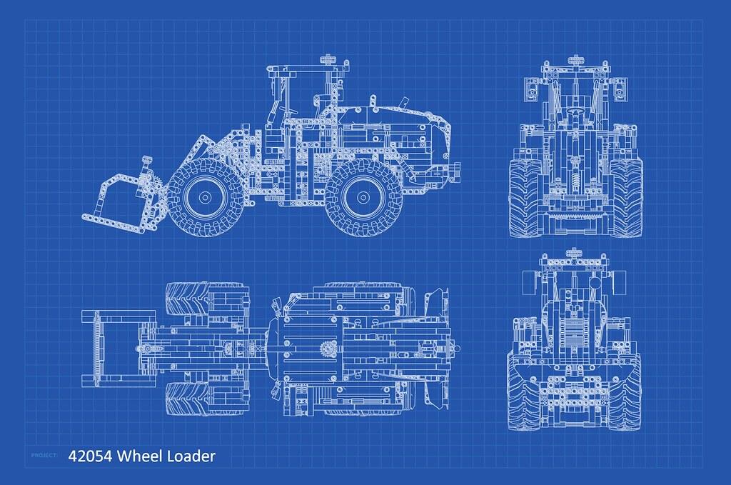 42054 wheel loader blueprint personally i do not like to u flickr 42054 wheel loader blueprint by mlonger malvernweather Images