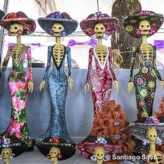 Las Hermosas Catrinas De Capula Michoacán Catrinas Capul Flickr