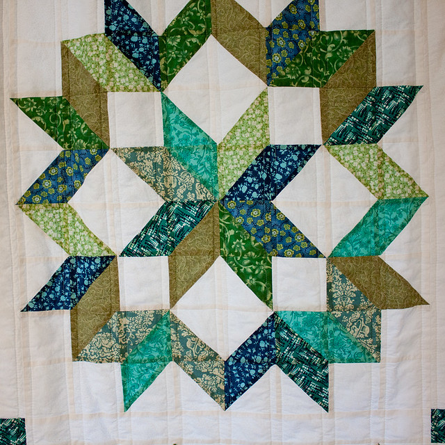 Quilt-Style Window Curtains