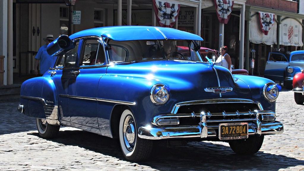 1952 chevrolet deluxe 4 door custom 3a 72 804 39 3 flickr for 1952 chevy 4 door