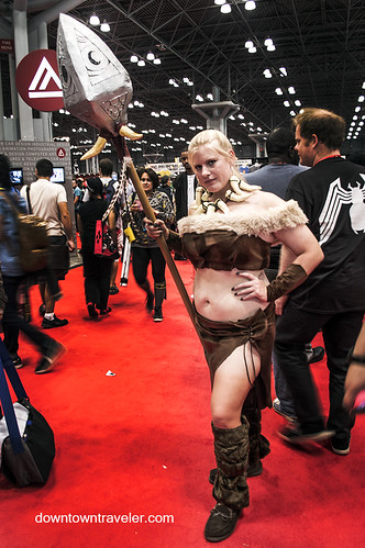 NY Comic Con 2014 Nidalee League of Legends | by Downtown Traveler