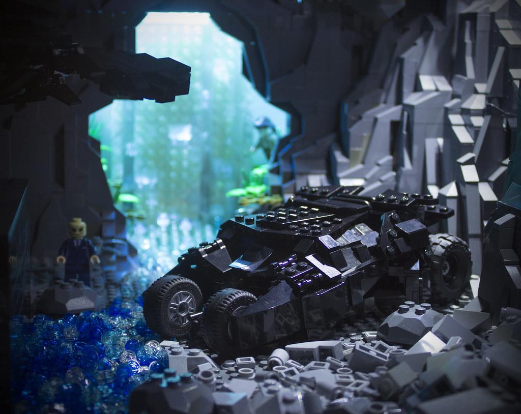 Batcave Dark Dark Knight Rises Batcave