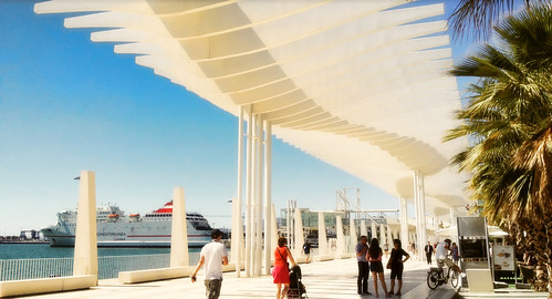 Malaga Port .. The Palm Garden of Surprises | by Nick Kenrick..