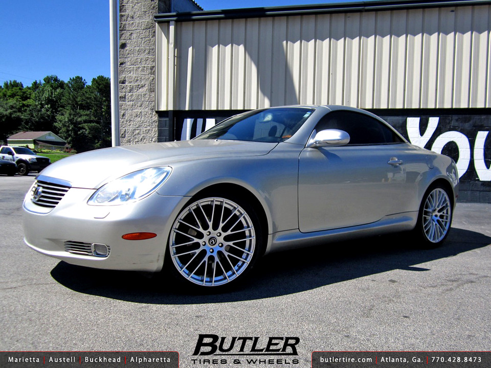 Lexus SC430 with 20in TSW Max Wheels | Additional Picture ...