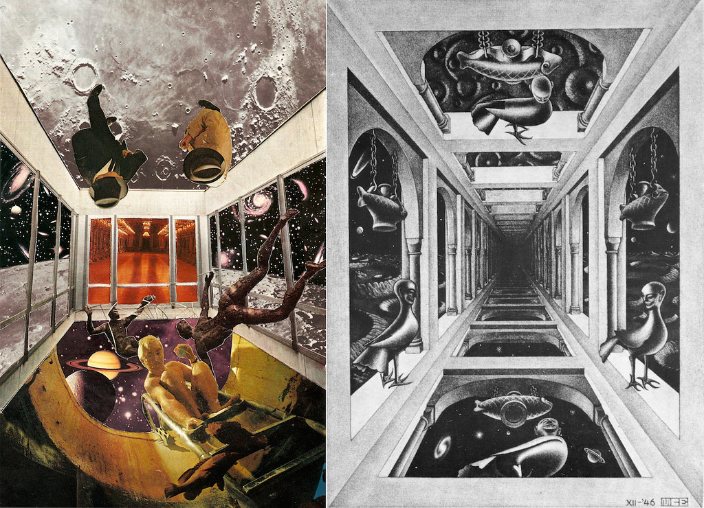 Mc escher gallery 1946 webpage facebook tumblr for Mc escher gallery