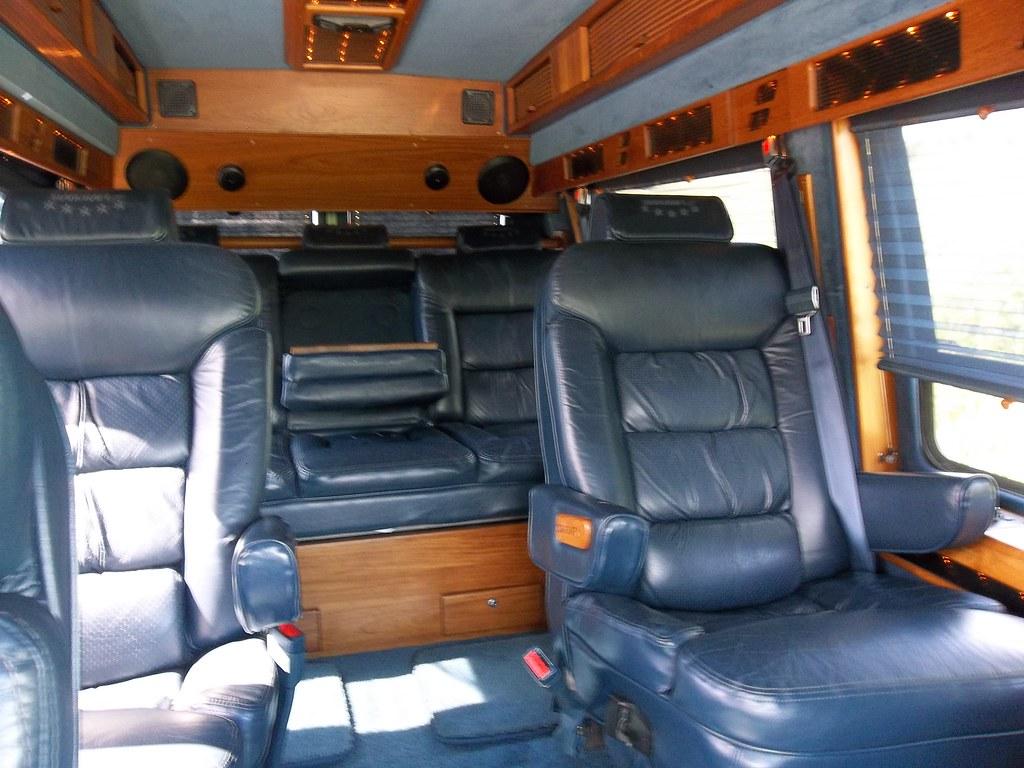 1994 Gmc Conversion Van >> L575WEW Interior | GMC Vandura, Starcraft GT | Allin Brown | Flickr