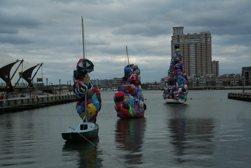 Light City at the Inner Harbor in Baltimore