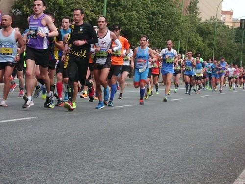 carrera corredores Maraton