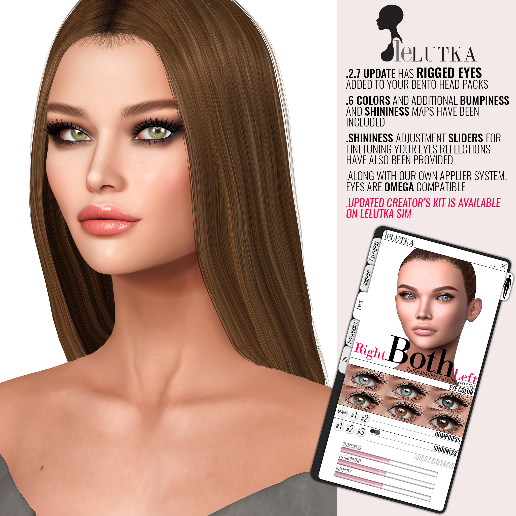 LeLutka Bento Heads Update 2.7