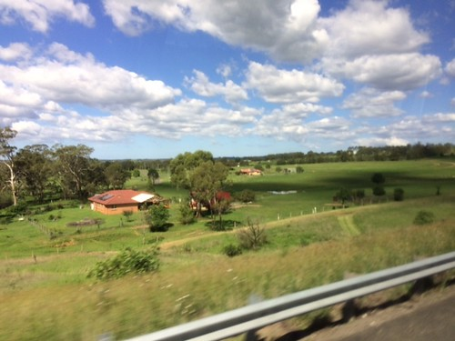 Australia's rural countryside. From I caught the bus to Sydney