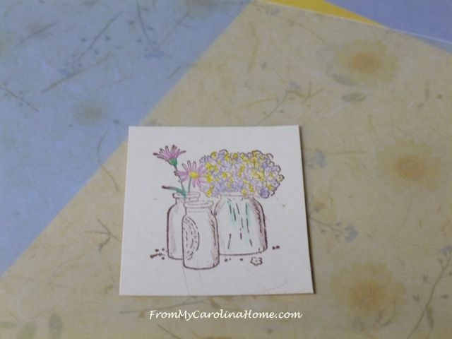 Spring Stamping at From My Carolina Home