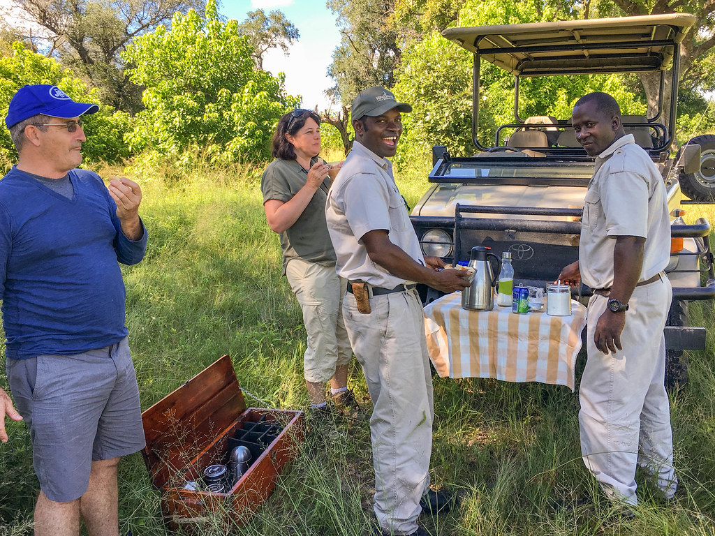 Picknick beim Morning Game Drive