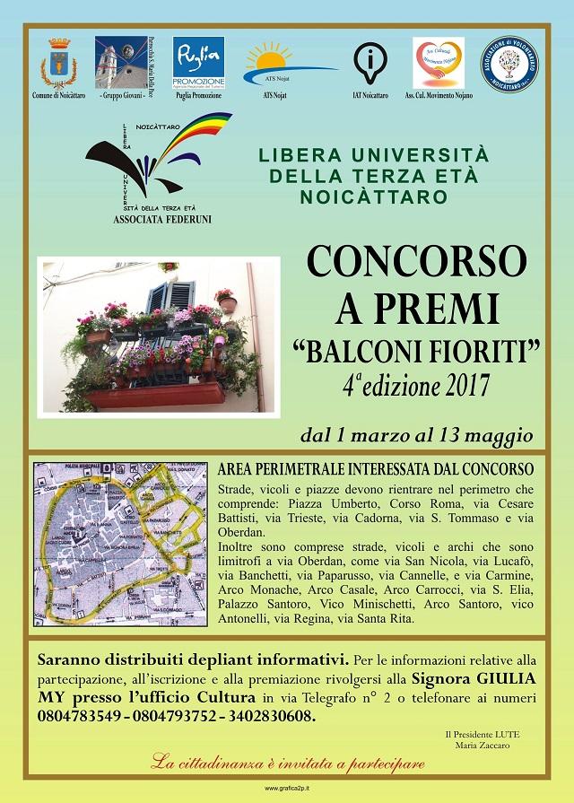 Noicattaro. Balconi Fioriti 2017 intero1