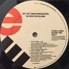 DEL THE FUNKYHOMOSAPIEN:NO NEED FOR ALARM(LABEL SIDE-D)