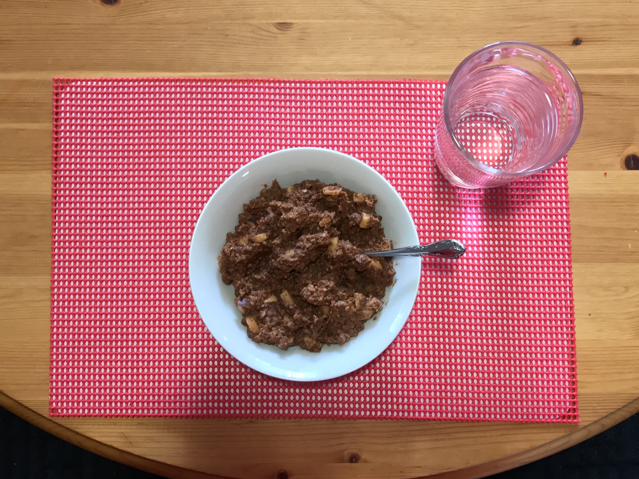 Tasty Breakfast Chocolate Apple Cinnamon Oatmeal Quaker