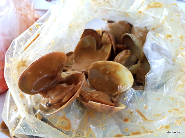 Clams in Curry Sauce