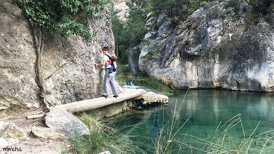cuerdas para evitar caídas al rio