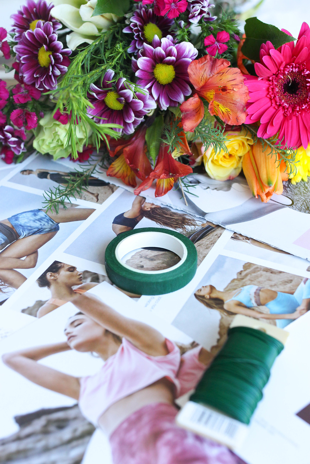 How to make a flower crown living after midnite how to make a flower crown easy diy real flower crown tutorial izmirmasajfo Image collections