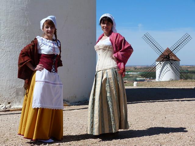 Molineras en Mota del Cuervo (Cuenta - Ruta de los molinos de viento en La Mancha)