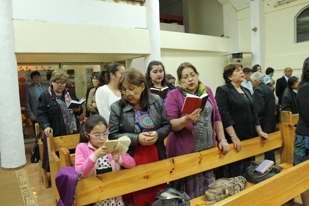 Bendecida Semana Santa en la IMPCH Chiguayante