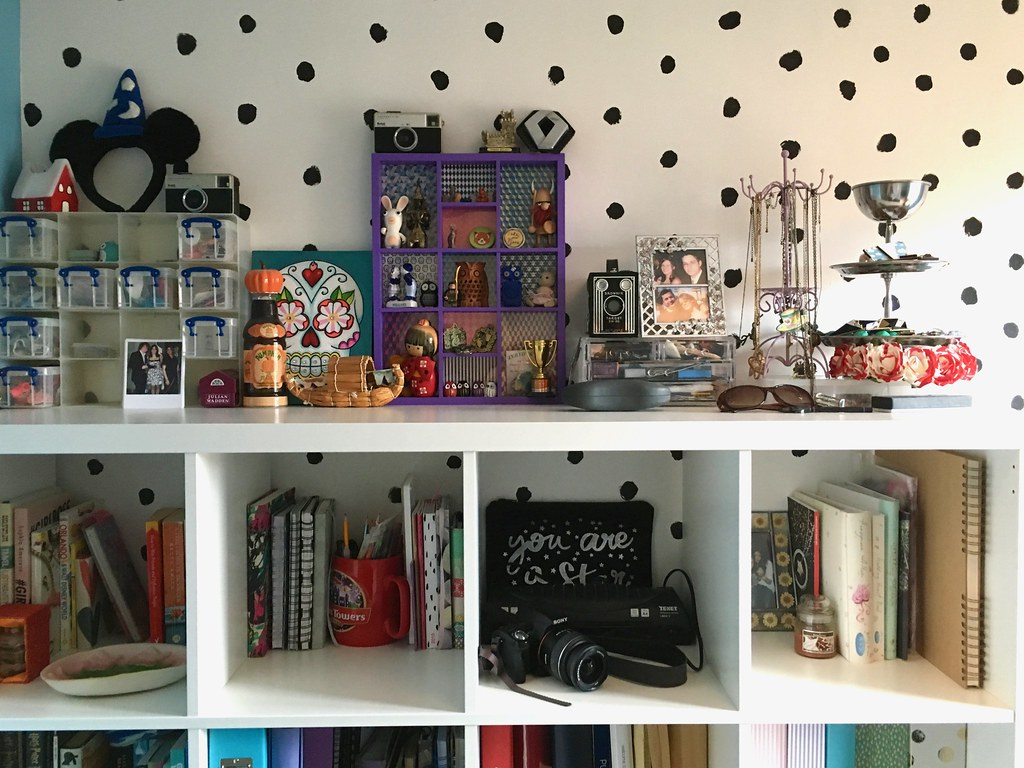 office reveal bookcase top