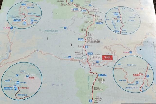 船原峠の地図