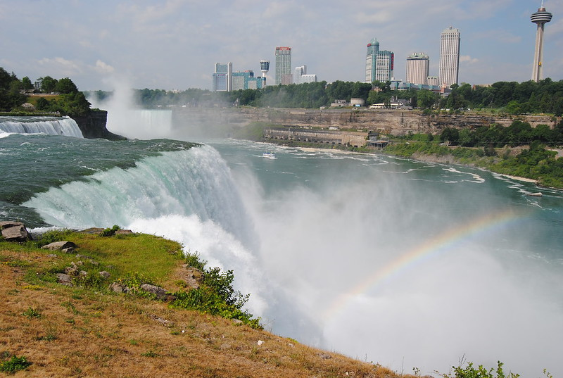 Niagara River from Prospect Point, Niagara Falls, New York