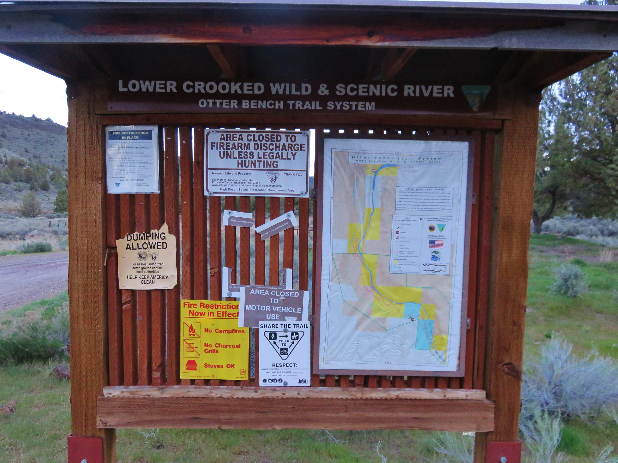 Otter Bench Trailhead