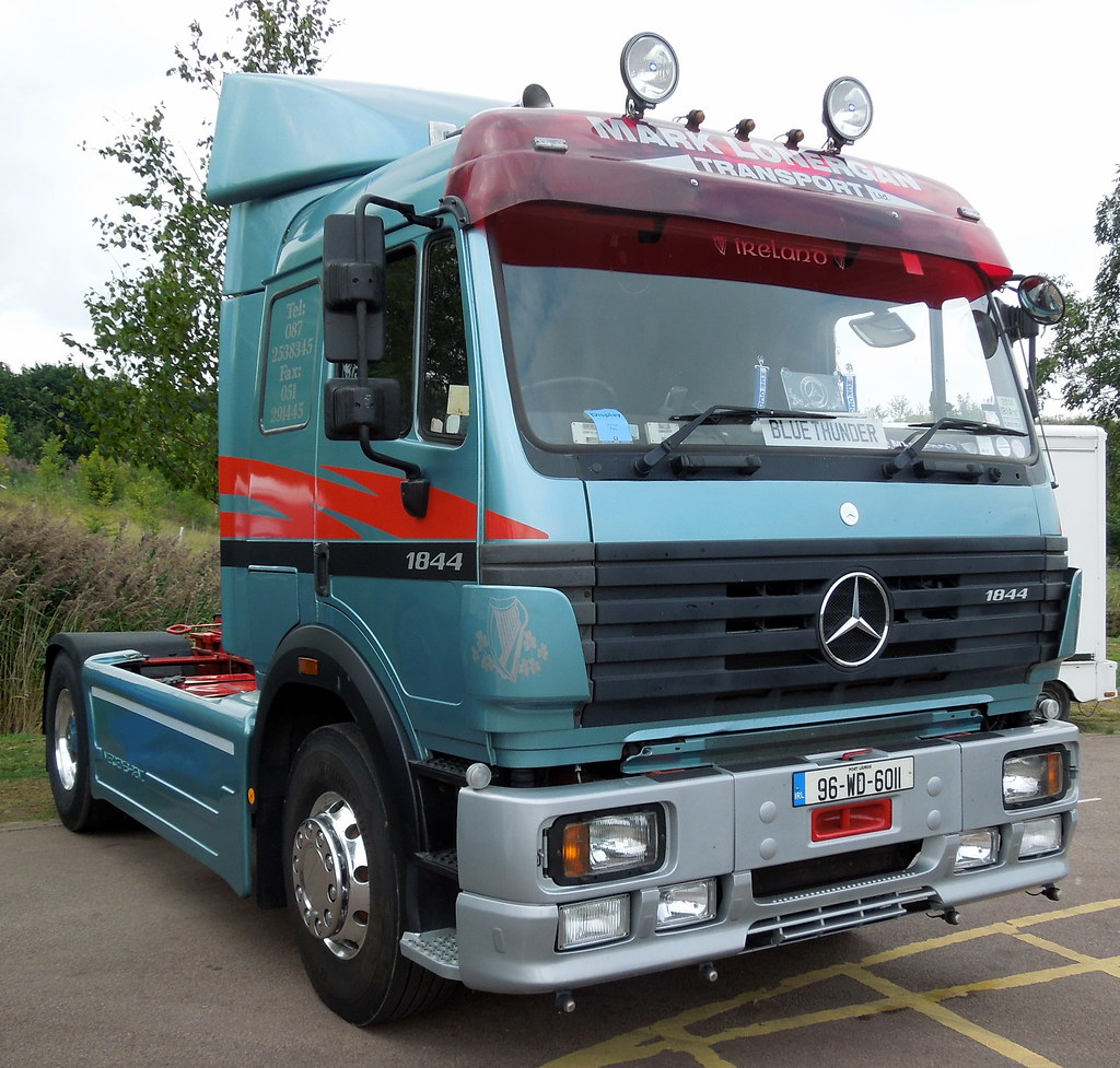 Mark Lonergan Transport Mercedes Sk 1844 Tractor Unit 19