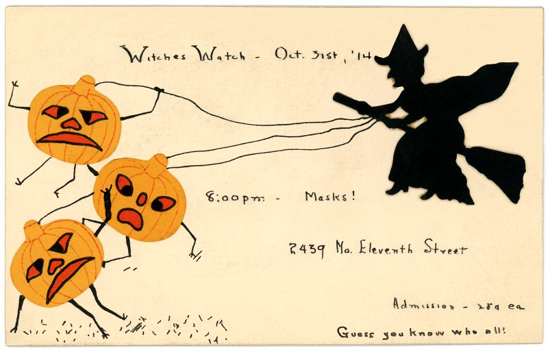 Witches Watch Halloween Party Invitation October 31 1914 – 31 Party Invite