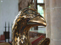 latten lectern eagle (15th Century)