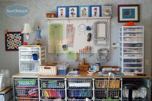 Sewing Room 'After' Reorganization | by SewAmazin