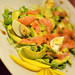 Salmon and avocado salad, TascaTelemaco, Hermigua, La Gomera