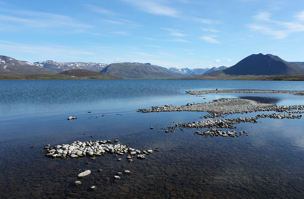 Blog Post >> Miklavatn, Tröllaskagi, Iceland | This lake is a sort of lag… | Flickr