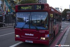 Dennis Dart Plaxton Pointer - LK55 KLP - DLD699 - Metroline - King's Cross London - 140926 - Steven Gray - IMG_0354