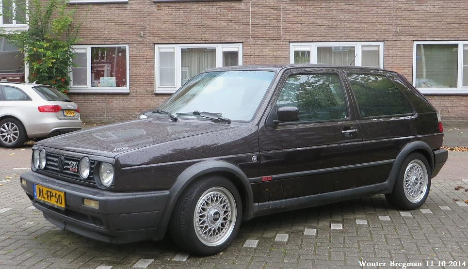 volkswagen golf ii gti 16v edition one 1989 amsterdam. Black Bedroom Furniture Sets. Home Design Ideas