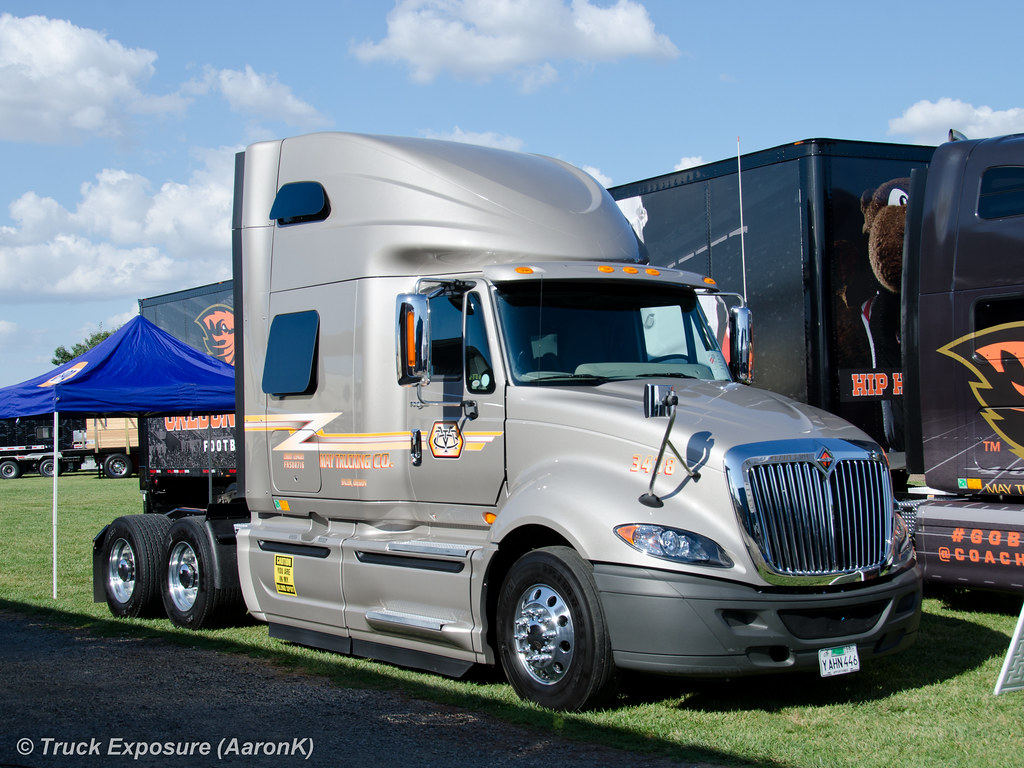 ... May Trucking 2015 International ProStar | by Truck Exposure