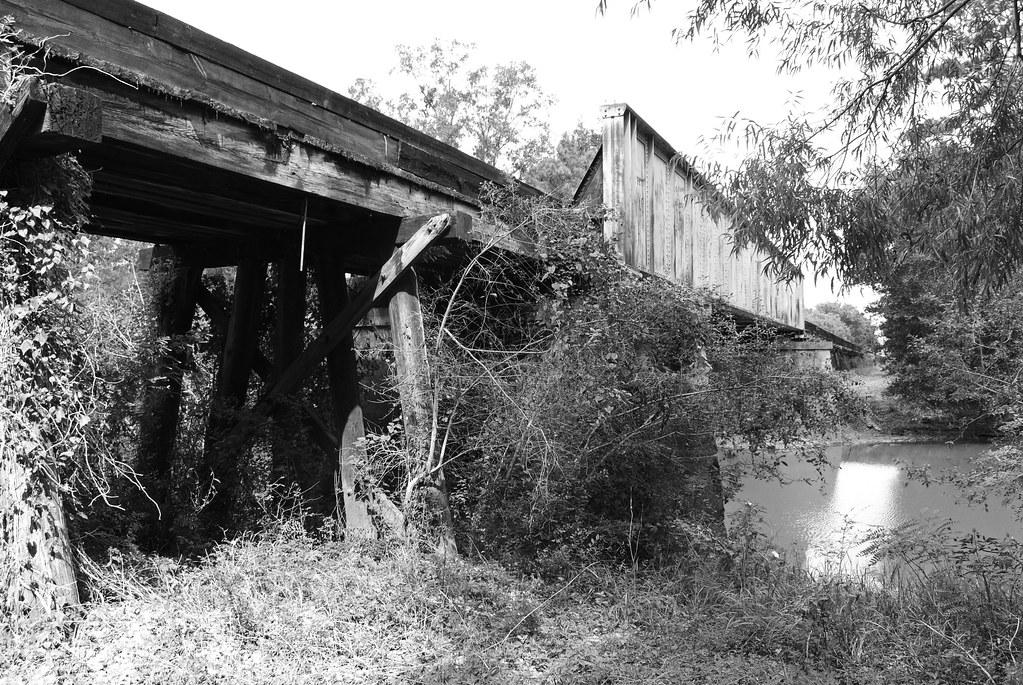 Union Pacific Railroad Bridge Over Angelina River Lufkin