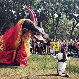 Michaelmas at school #sacramentowaldorfschool  #waldorf #festivals #holiday #community #dragon | by SarabellaE / Sara / Love in the Suburbs