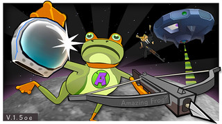 Amazing Frog OUYA UFO | by fayjuimages