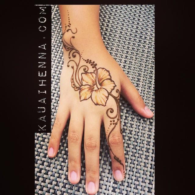 Henna Tattoo Bodyart Kauai Hawaii Art Designs Hibi Flickr