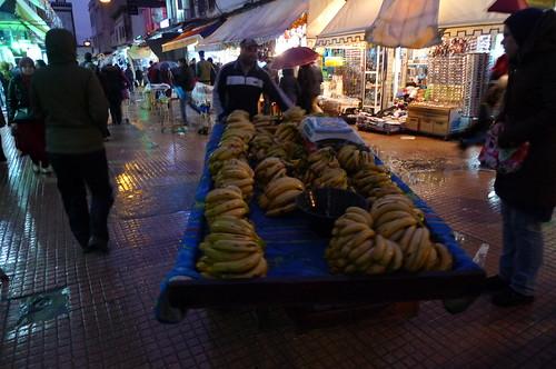 Banana Cart - Rabat, Morroco