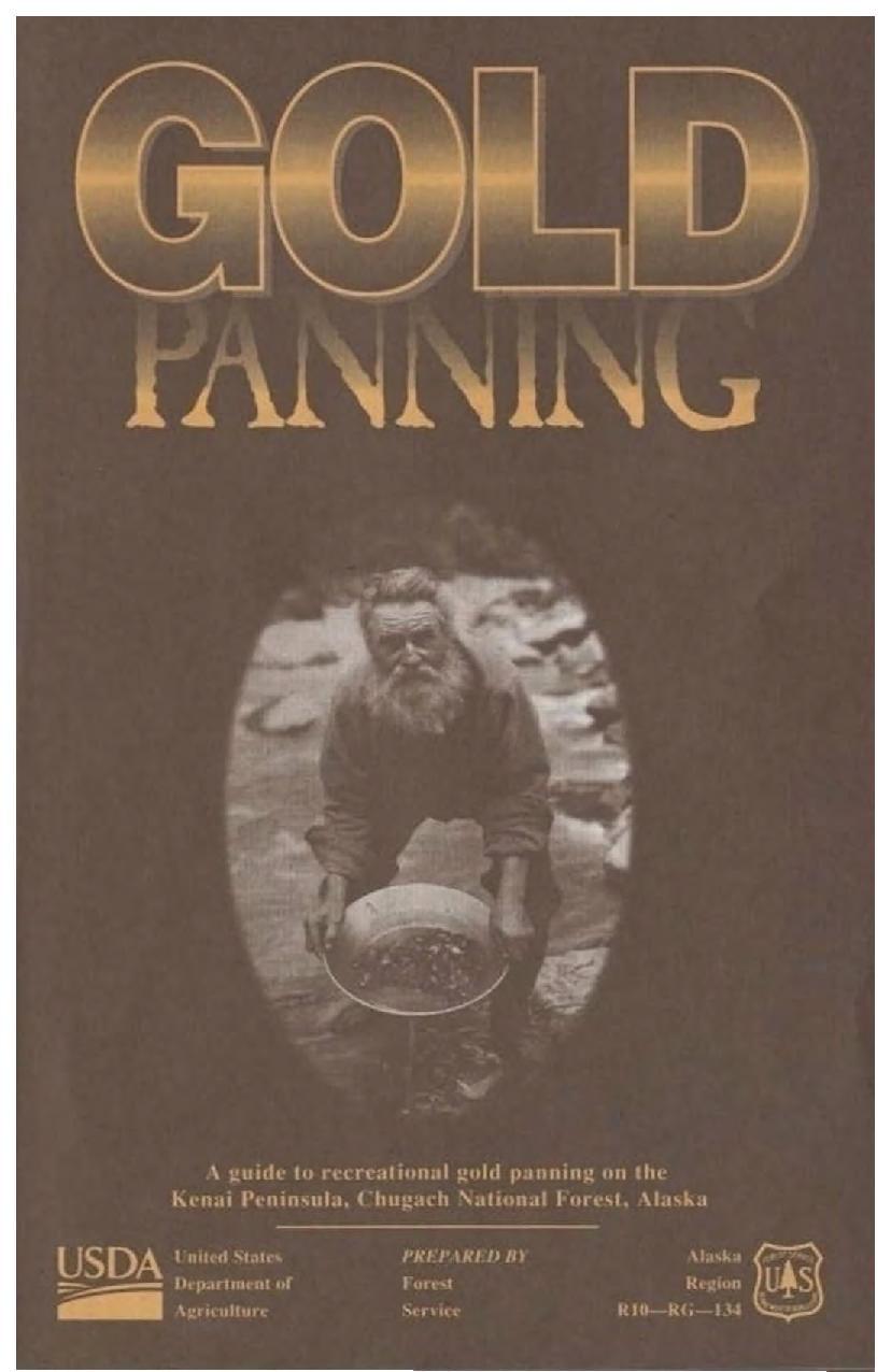 Gold Panning Alaska Book
