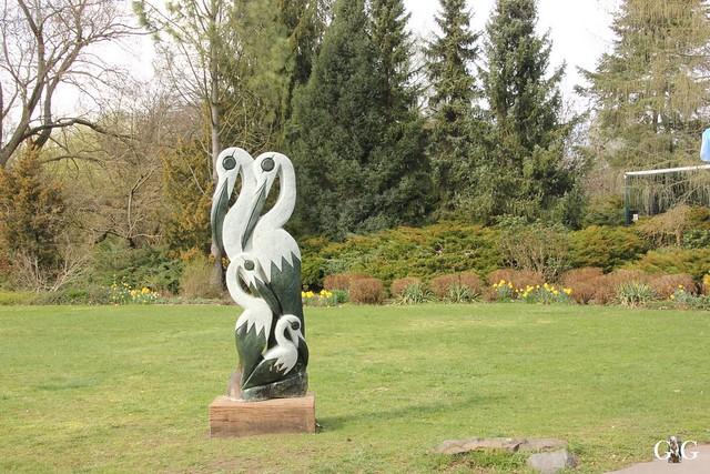 Frühlingstag Tierpark Friedrichsfelde am 02.04.201779