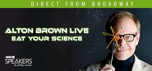 Direct from Broadway – Alton Brown's 'Eat Your Science'