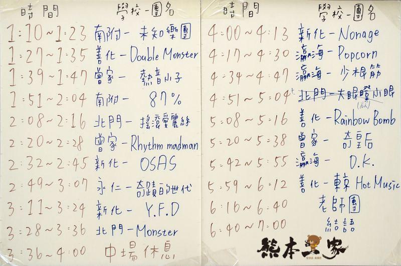 台南熱門音樂社|音法聯軍六校聯合成果發表會
