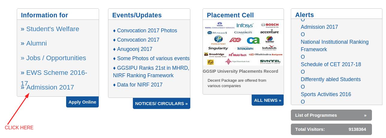 IPU CETAdmit Card2017