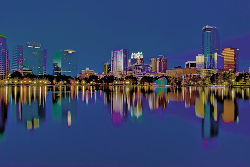 Lake Eola Park, City of Orlando, Orange County, Florida, USA