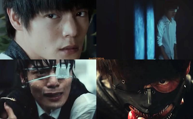 Teaser for TOKYO GHOUL Live Action Film Ken Kaneki